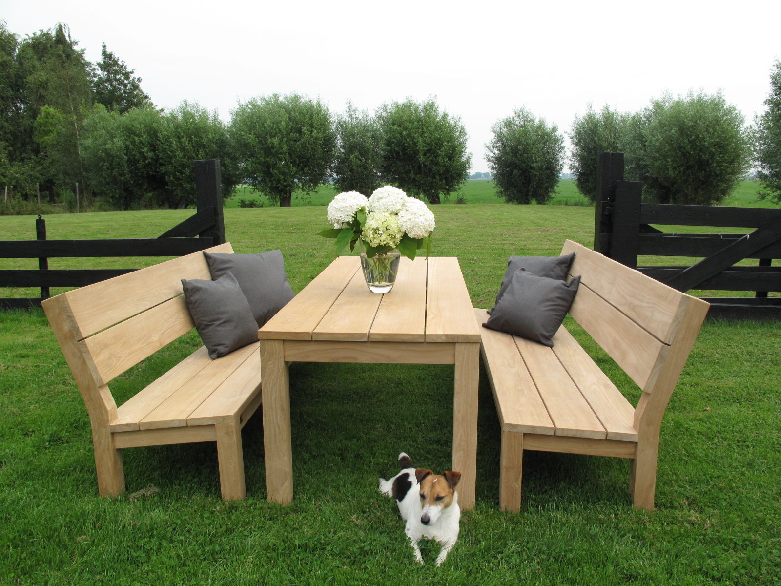 Eettafel teak | Dinner-Lounge Table - Annapart 1