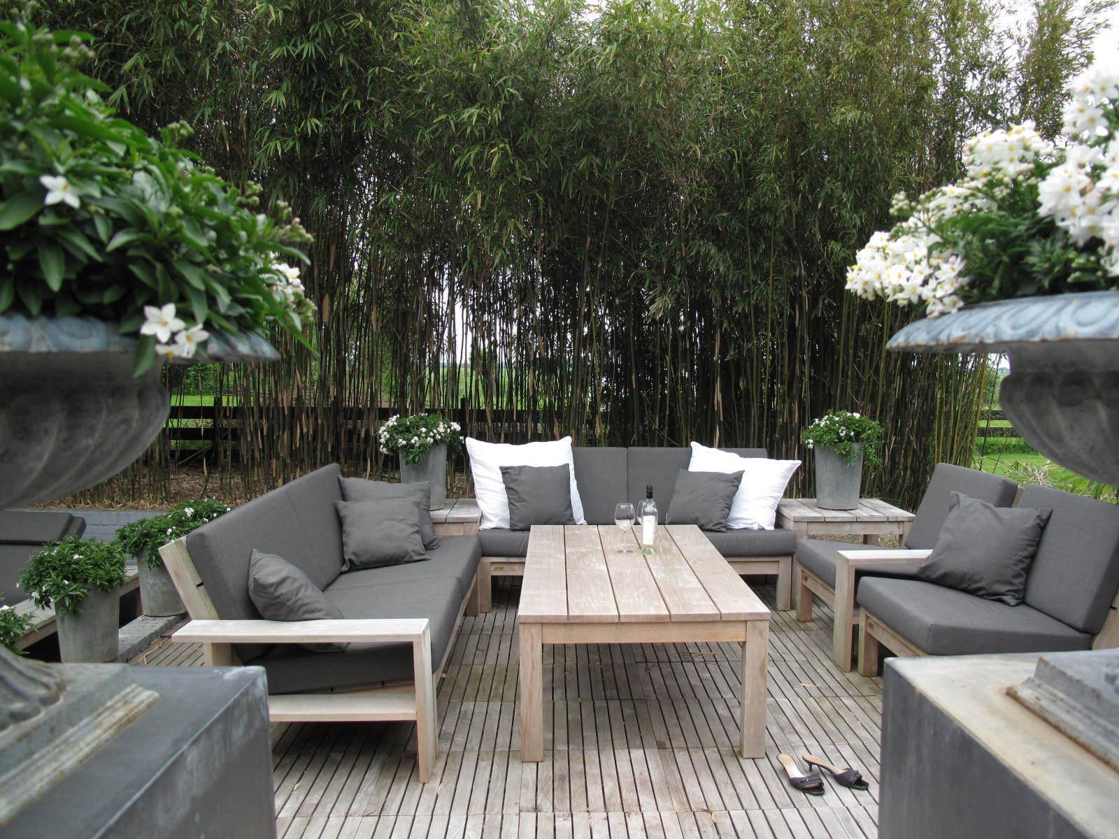 Teak salon tafel | Teak loungetafel | Teak tafel bij loungeset - Annapart 4