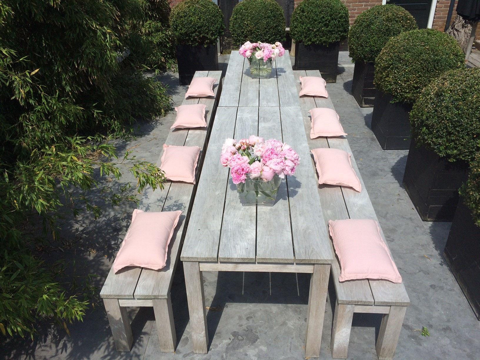 Teak tuinbank - Annapart Picknick Bench 2