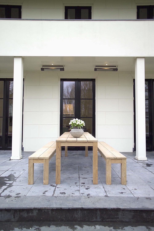 Teak tuinbank - Annapart Picknick Bench 3