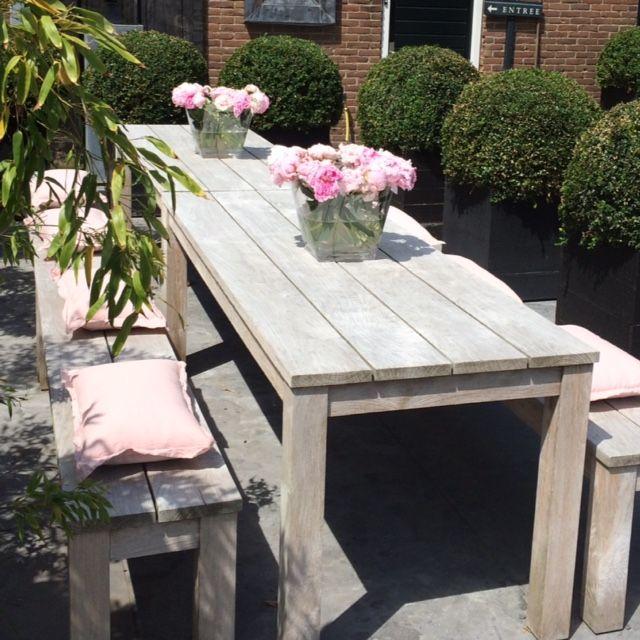 Teak tuinbank - Annapart Picknick Bench 5