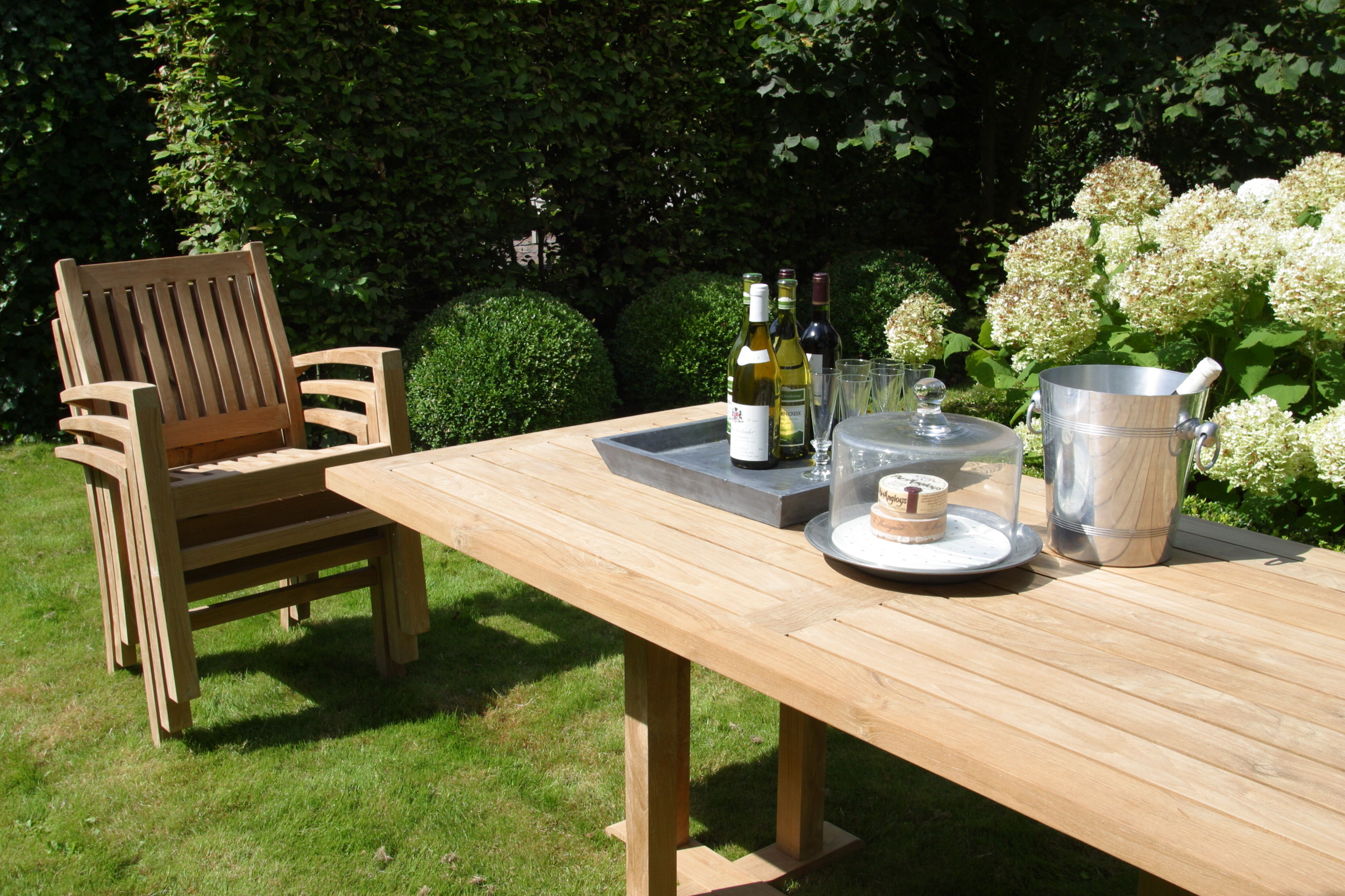 Teak eettafel Excellent | OUTLET 30% KORTING 1