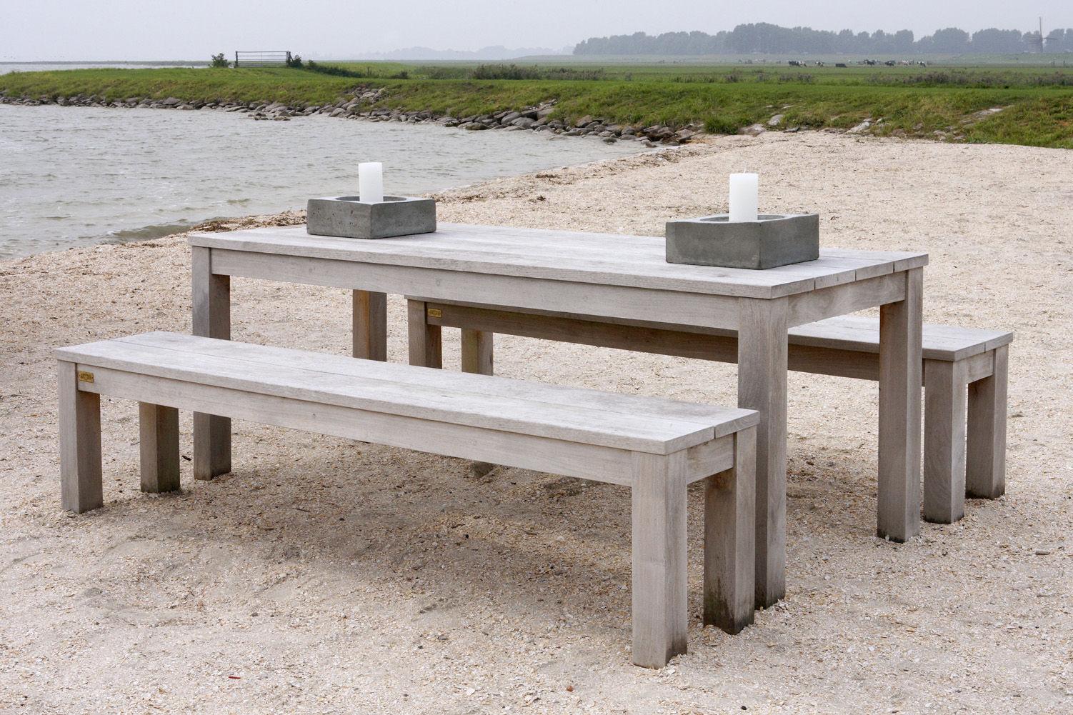 Teak tuinbank - Annapart Picknick Bench 4