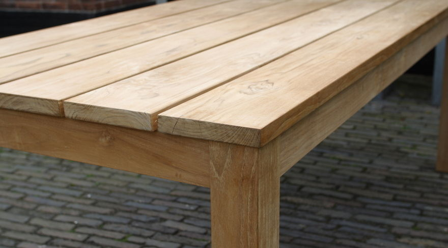 Teak tuintafel | Teak Dinner Table - Annapart 3