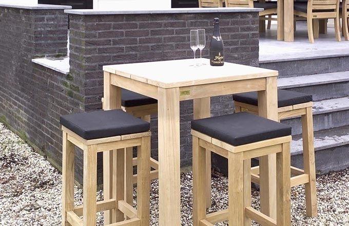 Annapart - Teak Bar Table 1