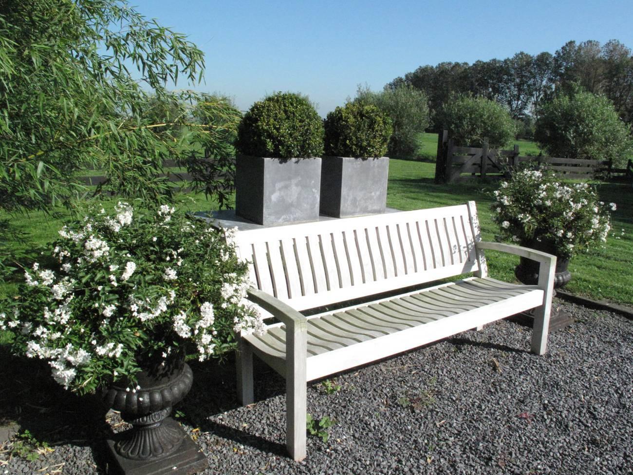 Excellent Lazy teak tuinstoel 3