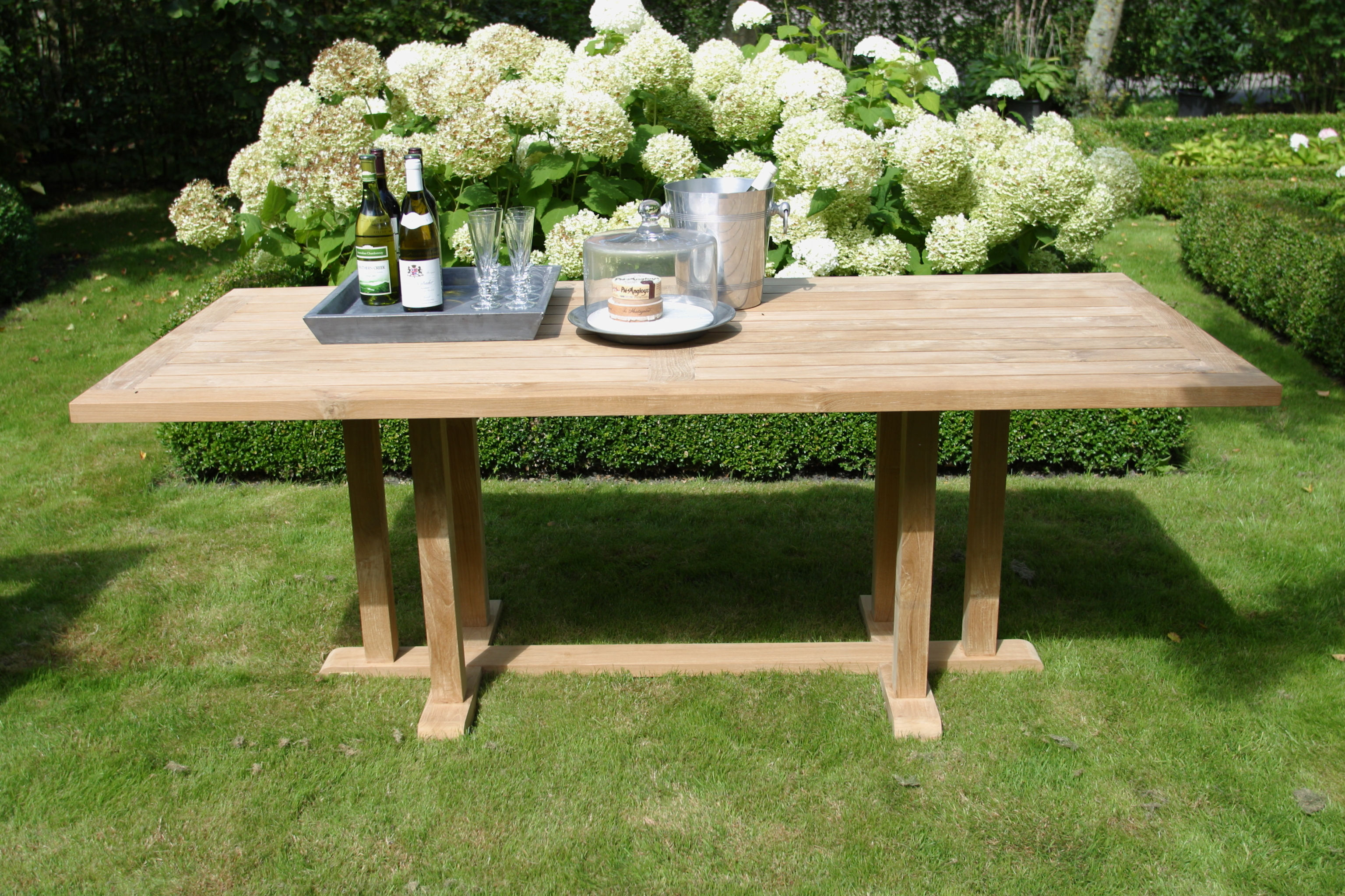 Teak eettafel Excellent | OUTLET 30% KORTING 3