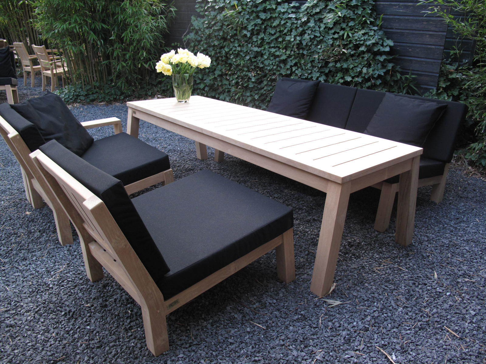 Teak eettafel | lounge-dinner table - Super Excellent 4