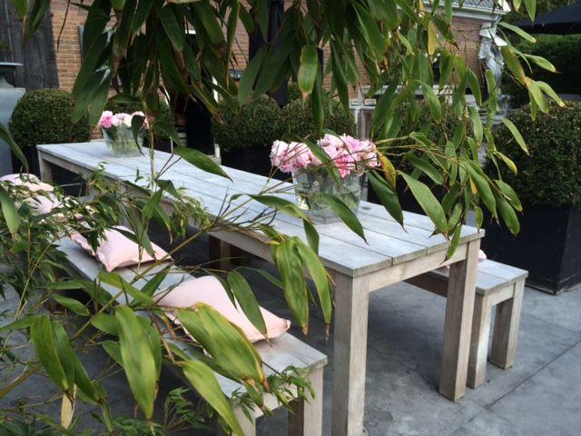 Teak tuinbank - Annapart Picknick Bench 6